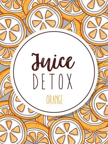 Juice Detox Hintergrund