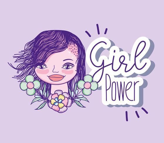Fumetto di potere della ragazza