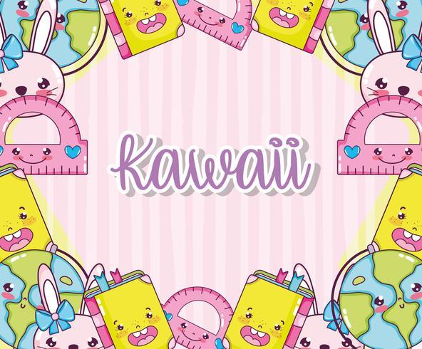Kawaii söta tecknade filmer