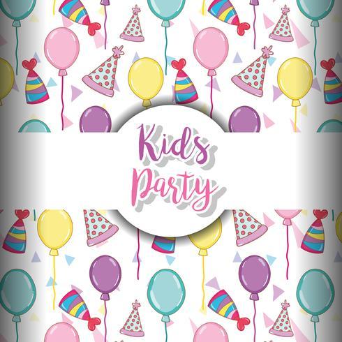 Sfondo festa per bambini