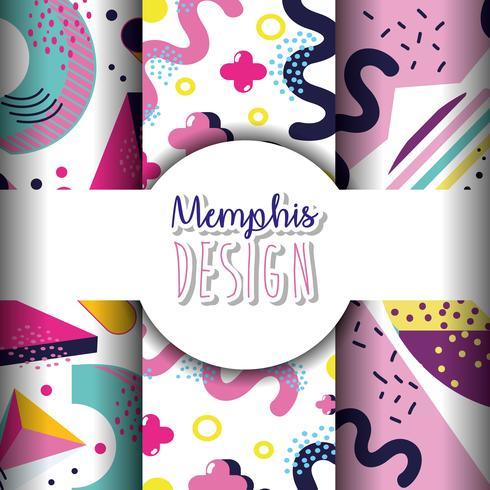 Modelli e sfondi di Memphis