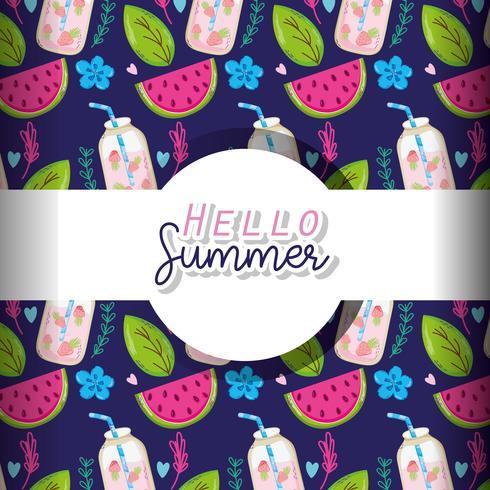 Hola fondo de verano
