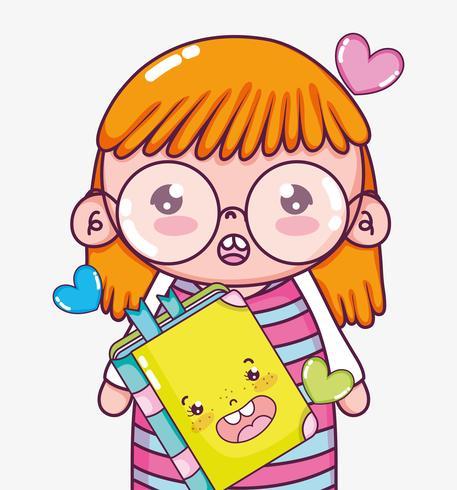 Mooi meisje tekenfilms