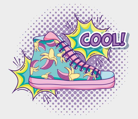 Scarpa cool pop art