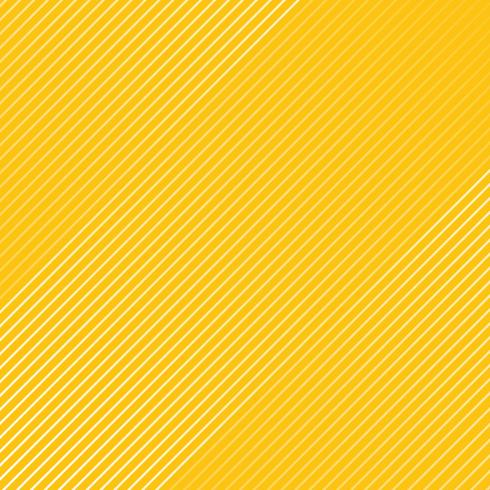 Abstract white striped lines pattern Diagonally texture on yellow color background. vector