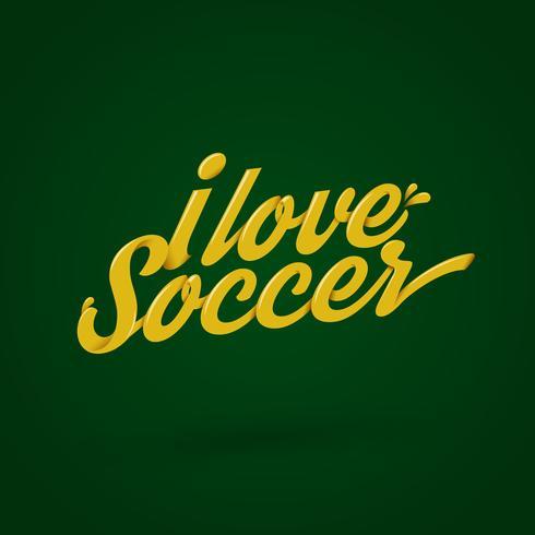 amo il calcio