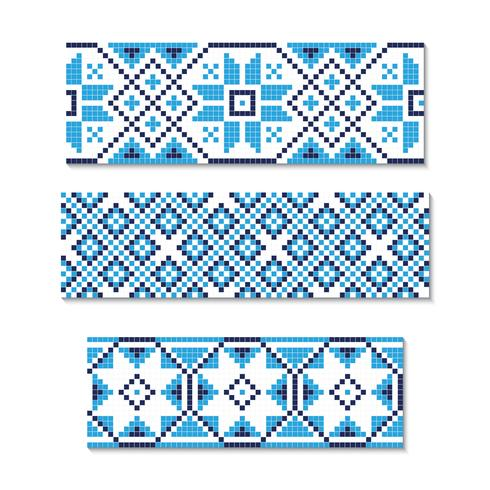 Vektorillustration der ukrainischen Verzierung nahtlos. Für Tapeten, Textilien, Karten