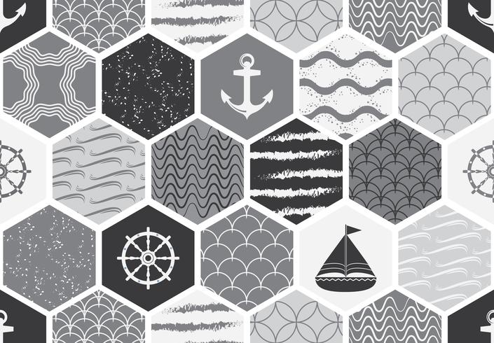 Conjunto de patrones sin fisuras art deco. Texturas modernas con estilo. fondos abstractos vector