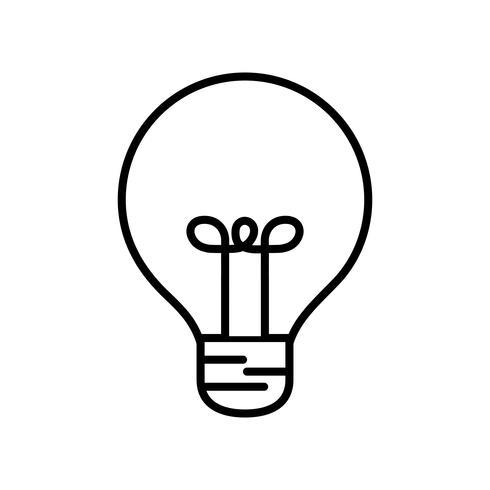 Glühbirne-Symbol