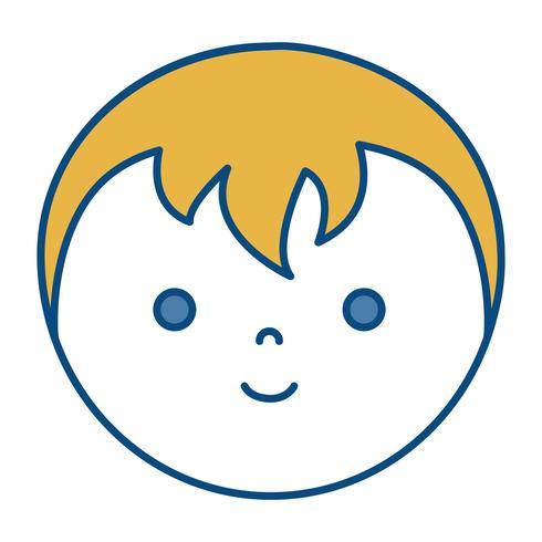 icono de hombre de dibujos animados vector