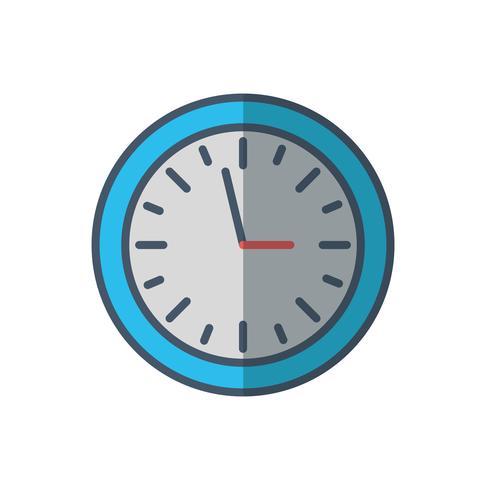 imagen del icono del reloj vector