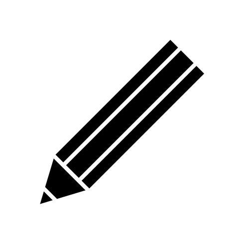 icono de utensilio de lápiz