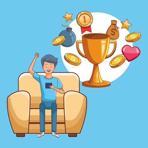 Adolescentes e jogos de smartphone