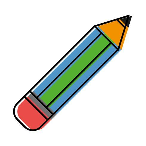 potlood gebruiksvoorwerp pictogram