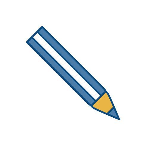 ícone de utensílio de lápis