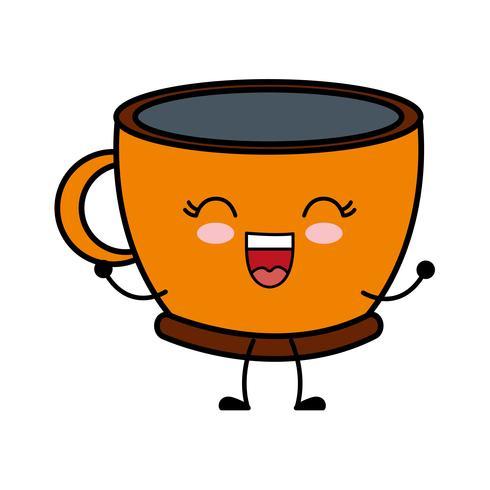 ícone de caneca de café vetor