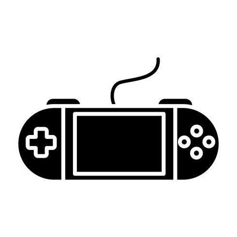 tragbares Videospiel-Symbol