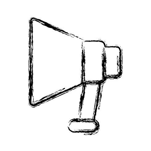megaphone device icon vector