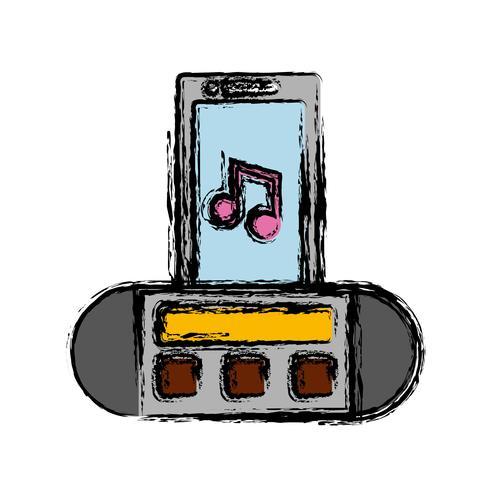 tragbare Sound-Lautsprecher-Symbol
