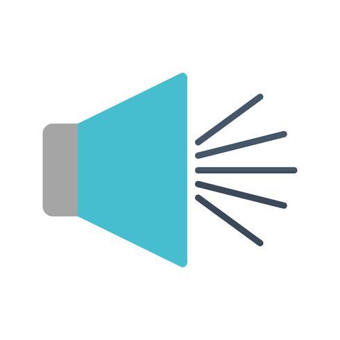 imagen del icono del altavoz vector