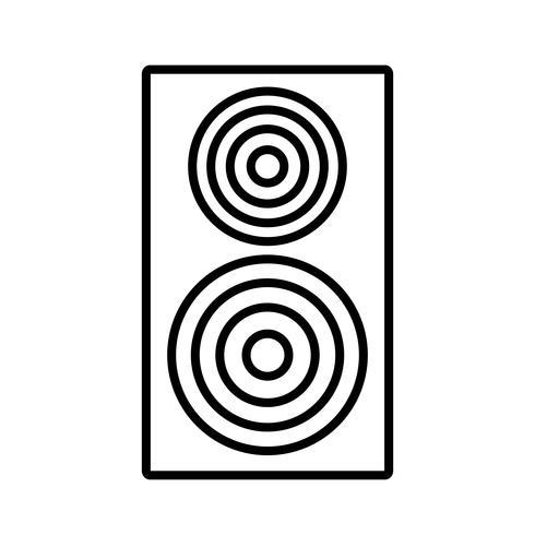 geluid luidsprekerpictogram
