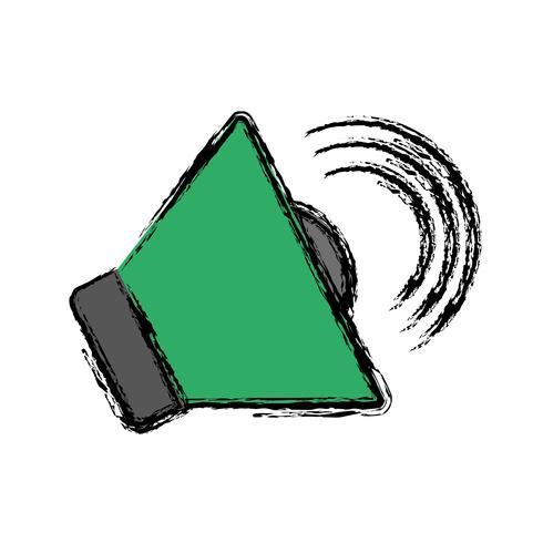 imagem de ícone de alto-falante