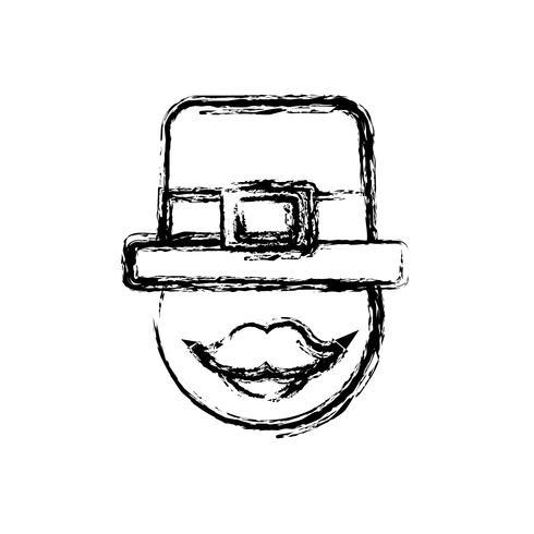 design de chapéu irlandês