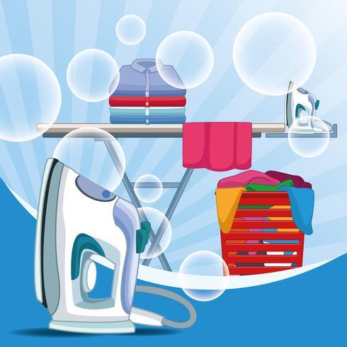 Kit de limpieza y suministros de limpieza.