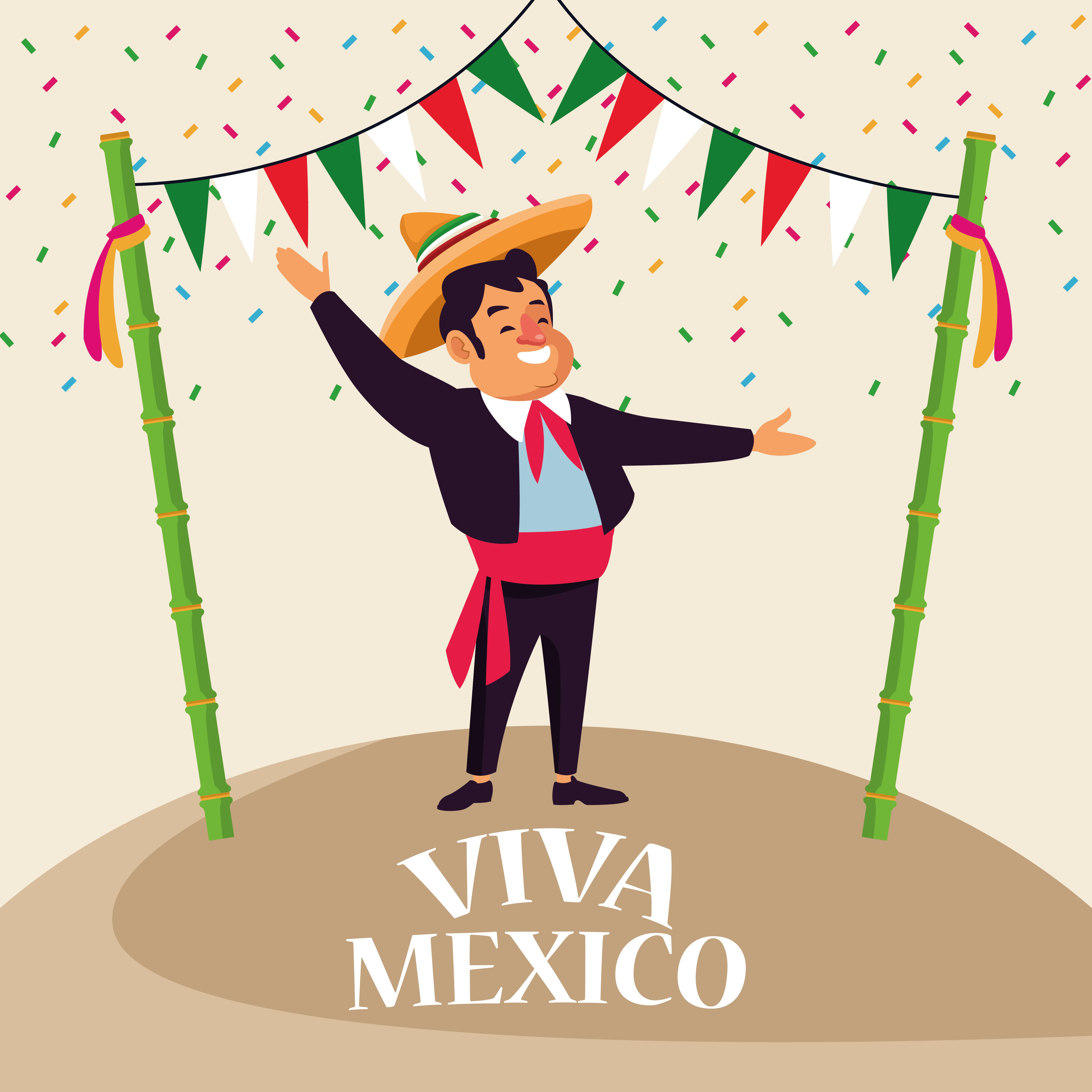 Viva Mexico Cartoons Download Free Vectors Clipart Graphics Vector Art
