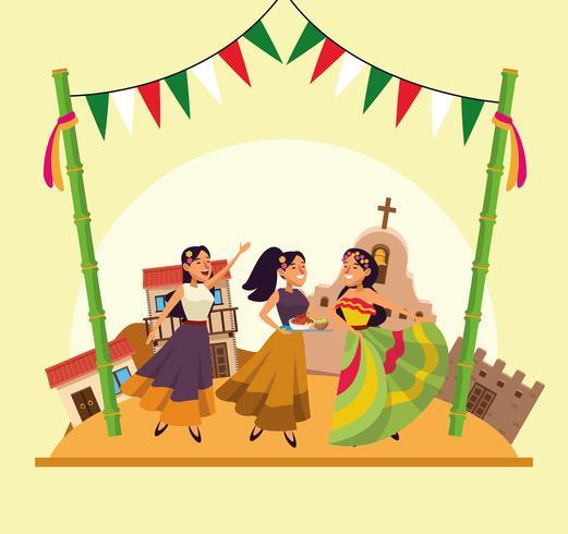Caricature mexicaine de cinco de mayo