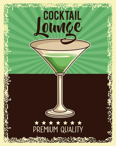 vintage drink affisch
