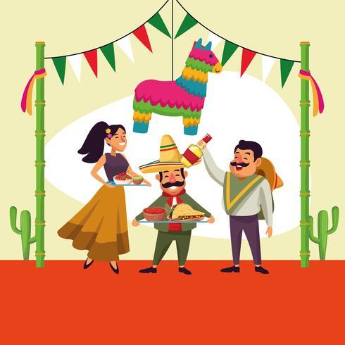 Mexicans cinco de mayo cartoon