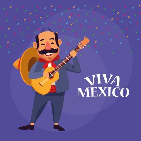 Viva mexico dibujos animados