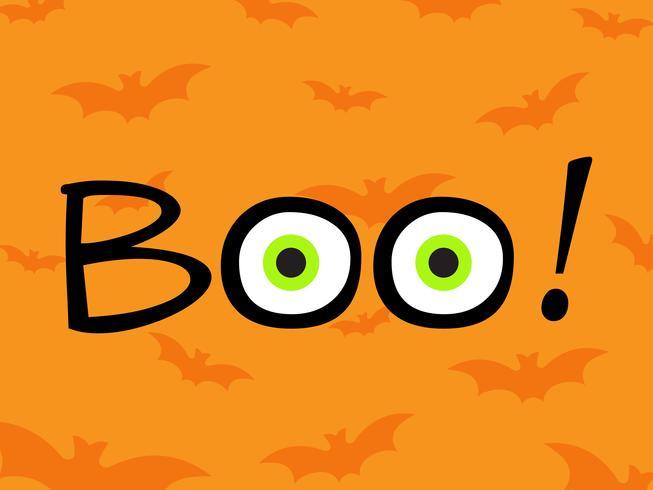 Glücklicher Halloween-Plakatdesign-Schablonenhintergrund