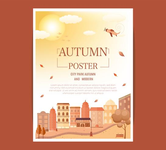 manifesto del festival di metà autunno.