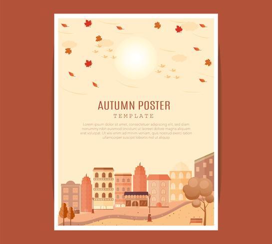 mitten av hösten festival affisch.