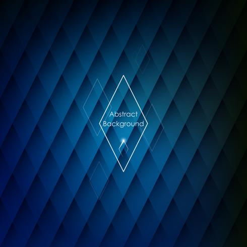 Abstract rhombic blue background for your designs.