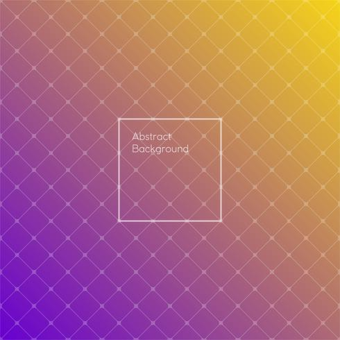Gradient purple and yellow colored triangle polygon pattern background.