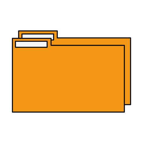 color folder file to save documents information to archive
