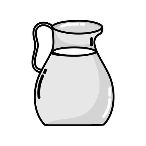 gråskala läcker juice burk näringsdryck