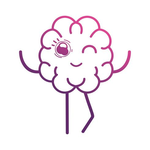 line cute brain kawaii with arms and legs download free vectors clipart graphics vector art clipart graphics vector art