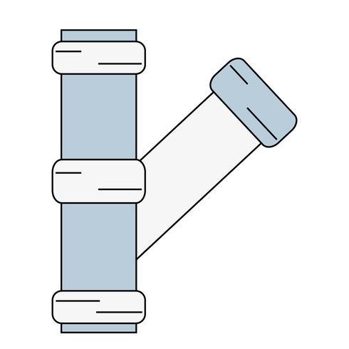 costruzione di attrezzature per la riparazione di tubi idraulici vettore