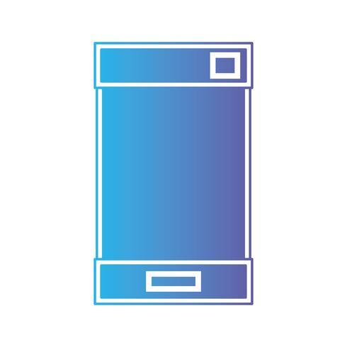 linje smarttelefon elektronisk teknologi för att kommunicera