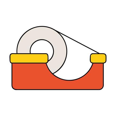 transparent adhesive tape object design