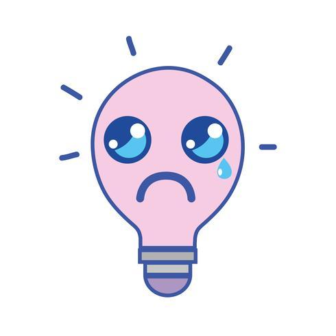 kawaii cute crying bulb idea
