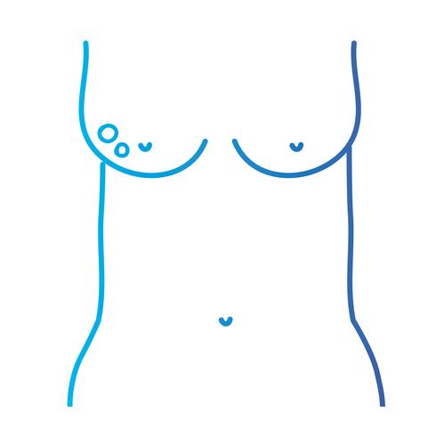 line mother breast cancer sickness and treatment prevention
