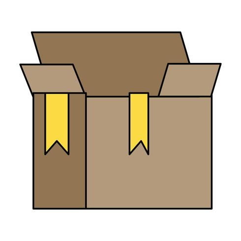 box package object open design