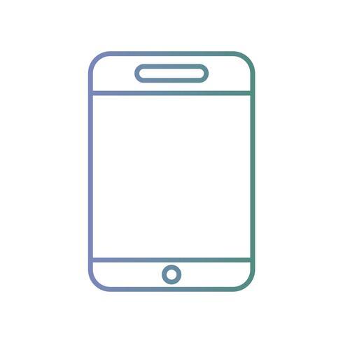 Leitung, Smartphone-Technologie zum Anrufen und Sprechen