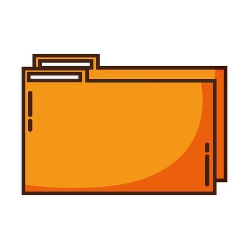 fichier de dossier de couleur pour enregistrer les informations des documents à archiver