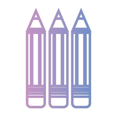 linea matite scuola disegno oggetto strumento
